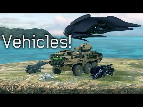 Halo 4 - Mammoth/Campaign Vehicles In Forge Mod