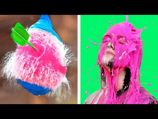 14 невероятных видео в замедленной съемке