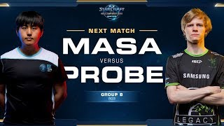 MaSa vs Probe TvP - Ro16 Group B Winners - WCS Winter Americas