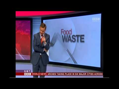 BBC World Service News (BBC America) Story on Food Waste 7/1/2014