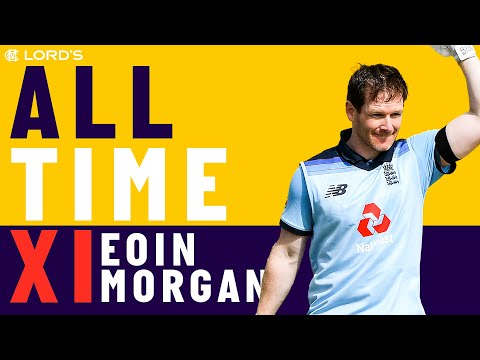 Ponting, De Villiers & Dhoni - Eoin Morgan's All Time XI