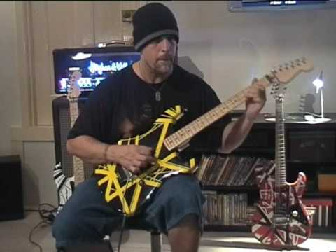 Doug Steele with EVH Bumblebee