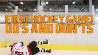 First Game New to Ice Hockey - What To Do And What Not To Do On Ice