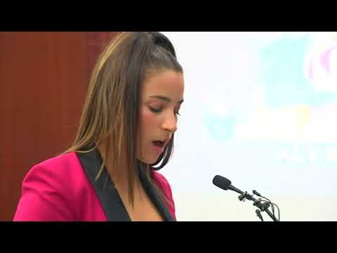 Olympic gymnast Aly Raisman speaks at Larry Nassar sentencing