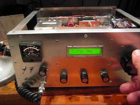 N6QW Tri-Band (40. 20 & 15 Meters) QRP SSB Transceiver.wmv