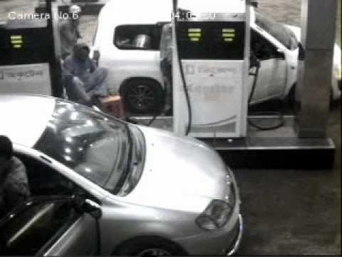 HIJACKING X COROLLA AT HAZIPARA CNG STATION RAMPURA DIT ROAD