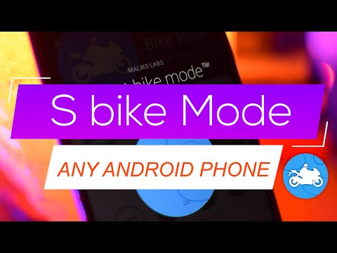 Get S Bike mode on ANY android phone 😨