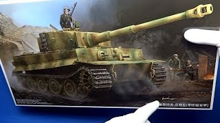 FULL VIDEO BUILD TRUMPETER TIGER TANK I (Late) with plastic zimmerit
