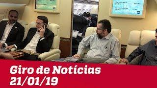 Giro de Notícias Jovem Pan - 21/01/19 - Terceira Edição