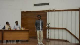 kavi mayank dwivedi (in DELHI university) yuva kavi  (ANTARANG EK PRAYAS)