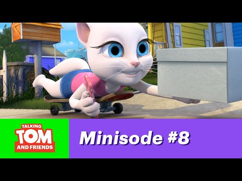 Talking Tom and Friends Minisode 8 - Angela's Surprise