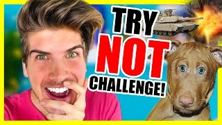 TRY NOT TO BE INTERESTED CHALLENGE!