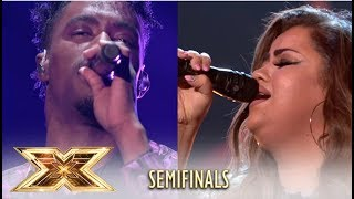 The X Factor Semi-Finalists Pay A Tribute TO ABBA In Front Of The Legend! | The X Factor UK 2018