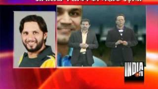Afridi Speaks To India TV