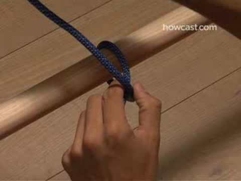 How To Tie a Clove Hitch Knot Video