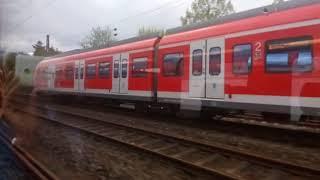 Train Overtaking - Euro Rail - Germany
