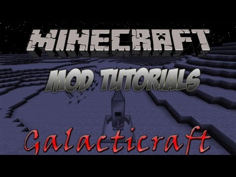 Minecraft 1.5.1 - How To Install The Galacticraft Mod