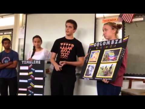 Colombia Civil Conflict Current Events Presentation
