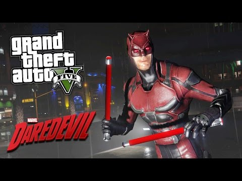 GTA 5 Mods - ULTRA REALISTIC DAREDEVIL MOD!! GTA 5 Daredevil Mod Gameplay! (GTA 5 Mods Gameplay)