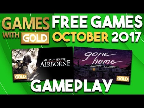 Gameplay from Xbox Games With Gold FREE Games for October 2017 (Games with Gold Games)
