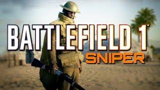 Battlefield 1: Sniper MVP on Suez (PS4 PRO Multiplayer Gameplay)