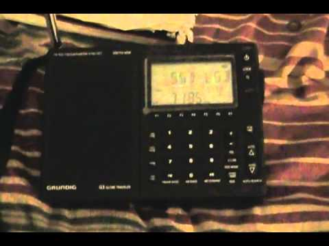 ham radio conversation recieved on a grundig g3 shortwave radio