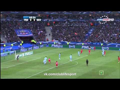 Франция 3-1 Грузия. Обзор Матча