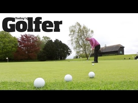 Gauge the green speeds with this warm-up putting drill - Steven Orr - Today's Golfer