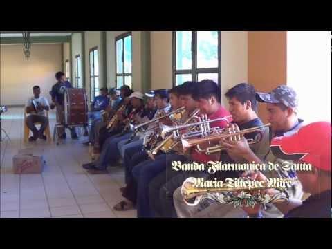 Banda Filarmonica de Santa Maria Tiltepec Mixe. San Melchor Betaza 2013,