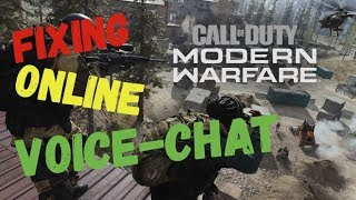 COD MW How to fix ALL Voice Chat Issues on PC!!! (Part 1)