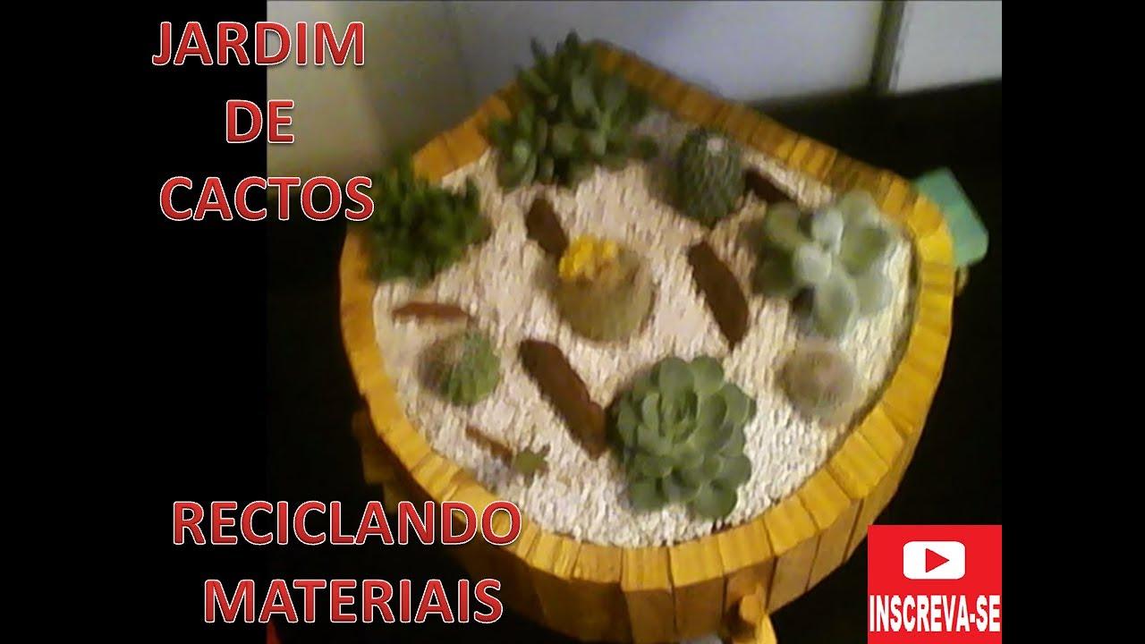 mini jardim cactos suculentas : mini jardim cactos suculentas:Mini Jardim de Cactus e Suculentas – YouTube
