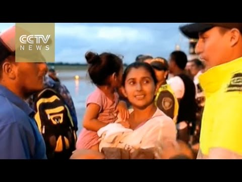 Ecuador Earthquake: Colombian citizens moving back home