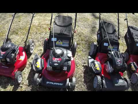 New Walmart Murray/ Snapper Mowers Comparison
