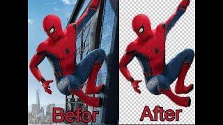 تخلص من خلفية الصورة باحترافية باستعمال الفوتوشوب - How To Remove Background In Photoshop