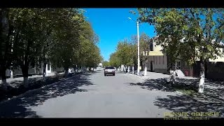 Видео Берислава: Берислав поездка по городу весна 2017 . Berislav city tour spring (автор: Den9ik Odessit)