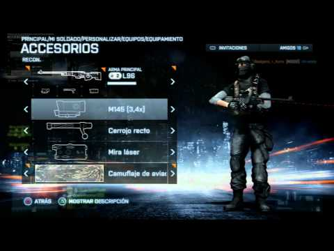 BF3 - Comparemos! M40A5 vs L96 - RkGomez