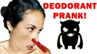 Angry Deodorant Confusion Prank (multiple voices) - Ownage Pranks