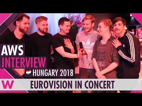 AWS (Hungary 2018) Interview | Eurovision in Concert 2018
