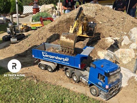 RC Trucks & Machines - Big Fun and play in Austria!