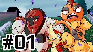 THE DYNAMIC QUADRUPLE   Pokémon Black & White Solo-Run Versus - Episode 01