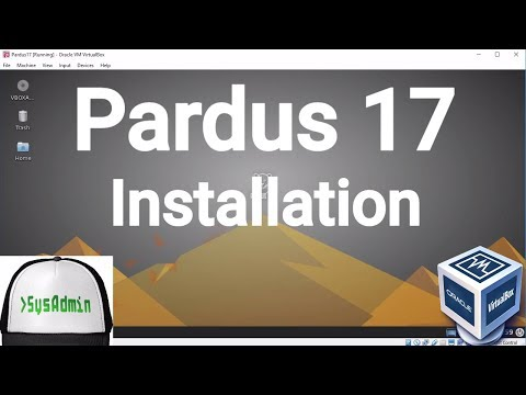 Pardus 17 Installation + Guest Additions on Oracle VirtualBox [2017]
