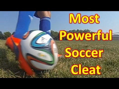 What Is The Most Powerful Soccer Cleat/Football Boot?