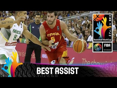 Brazil v Spain - Best Assist - 2014 FIBA Basketball World Cup