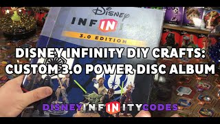Free Download: Disney Infinity DIY Craft - Custom 3.0 Power Disc Album - Disney Infinity 3.0