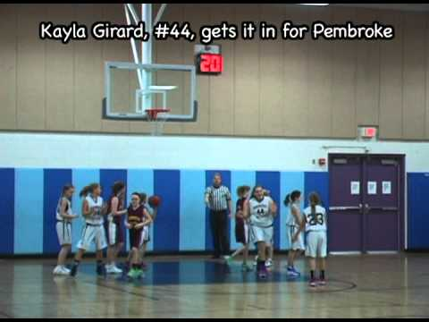 Pembroke vs Weymouth, Grade 6 Girls' Travel Basketball