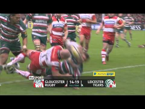 Northampton Saints vs Saracens | Aviva Premiership Rugby Match Highlights Rd.9 2011/12