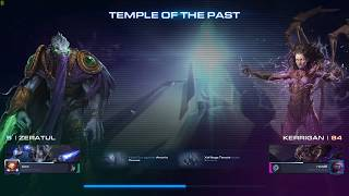 Starcraft 2 - Coop - Temple of the Past - Brutal - Zeratul