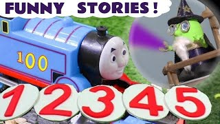 Thomas & Friends and funny Funlings pranks with Big World Big Adventures train stories TT4U