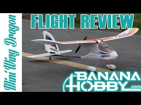 Mini Wing Dragon 300 The Perfect RC Airplane! Flight Review in HD!