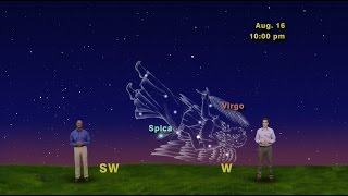"""Star Gazers """"From Virgo To Scorpius, The Moon Sure Gets Around"""""""